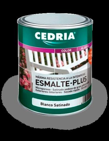 Esmalte Plus microporoso CEDRIA® BLANCO mate 4 Lt